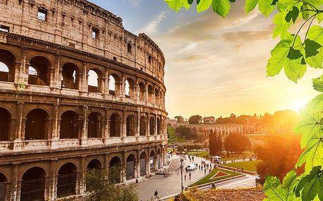 5denní poznávací zájezd do Říma s návštěvou Pompejí a Vatikánu pro 1 osobu