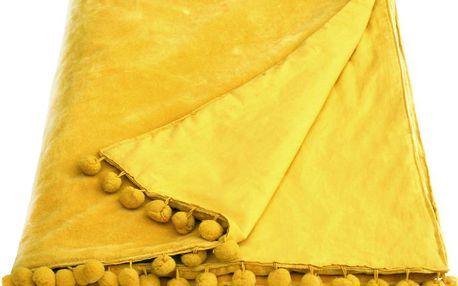 Přehoz Belinda Velvet Gold - doprava zdarma!