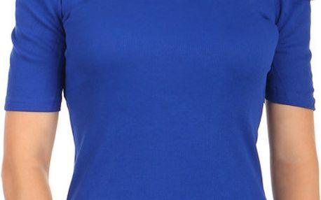 Elegantní tričko s rolákem modrá