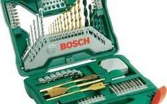 Univerzální sada vrtáků a bitů Bosch X-Line, 2607019329, 70dílná