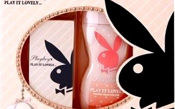 Dárková kazeta Playboy Play It Lovely Eau De Toilette + sprchový gel 30 ml + 250 ml