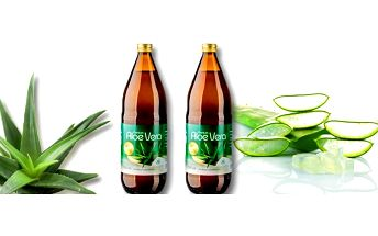 100% šťávy Allnature Premium Aloe Vera