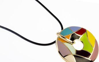 Fashion Icon Náhrdelník zlatý s prvky kubismu