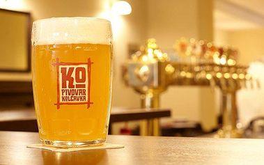 2 až 6denní pobyt pro 2 se snídaněmi a prohlídkou pivovaru Kolčavka v Praze
