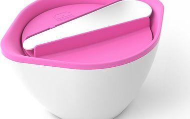 MB LIB Pink/White na saláty a polévky