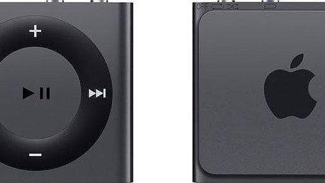 Apple iPod shuffle - 5. generace tmavě šedá - II. jakost