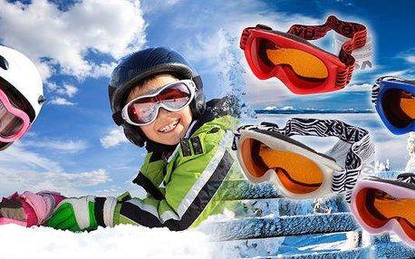 Lyžařské dětské brýle UVEX Supravision na lyže a snowboard, extrémní odolnost proti poškrábání a úprava proti zamlžení, 100% ochrana proti UVA, UVB a UVC záření, výběr ze 4 barev!