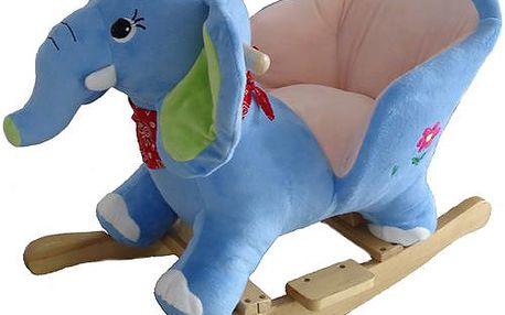 BabyGO Houpací křeslo - sloník