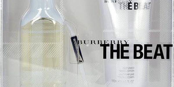 Burberry The Beat toaletní voda dárková sada pro ženy - Edt 50ml + 100ml tělové mléko