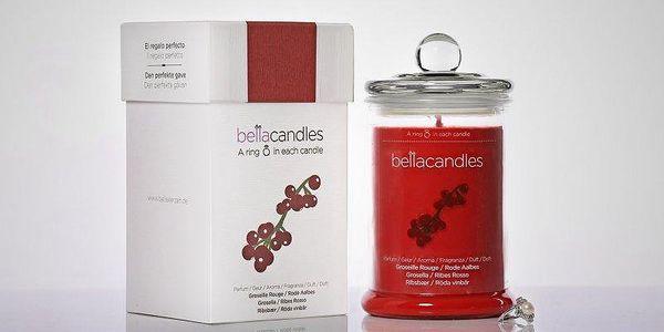 BellaCandles Červený rybíz - Velká