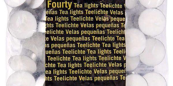 FOURTY Čajové svíčky 40ks