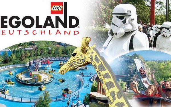 Německo - LEGOLAND! 1denní zájezd pro 1 osobu včetně vstupenky a možnosti potkání postav ze Star Wars!