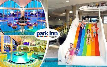 Termální lázně Sárvár s polopenzí a neomezeným wellness v luxusním Park Inn hotelu! Nejžádanější termíny právě nyní!
