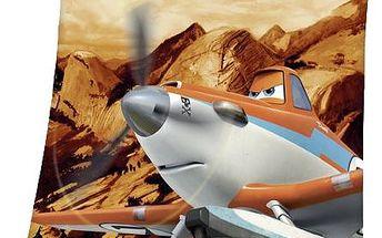 Herding Dětská deka Planes 2 Prášek, 130 x 160 cm