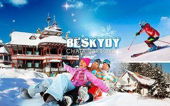 Beskydy - Horní Bečva! Zimní pobyt na 3-6 dní pro dva s polopenzí, poblíž Ski areálu Pustevny!