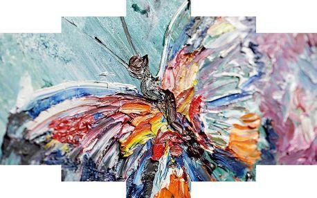 5dílný obraz Colorful