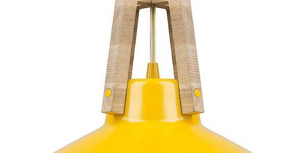 Stropní světlo Work yellow, 33 cm - doprava zdarma!