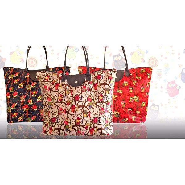 Trendy tašky s roztomilými sovičkami