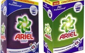 Ariel Professional + Color & Style prací prášek 280 pr.cyklů - doprava Zdarma