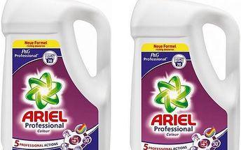 Ariel Profesional prací gel na barevné prádlo 2x70 ckl = 140 ckl