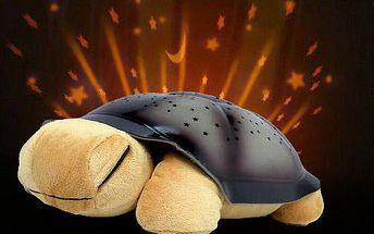 Svítící magická želva s melodií