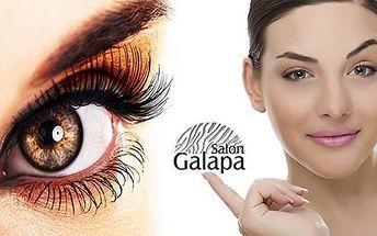 57% sleva na barvení a úpravu obočí v Salonu Galapa