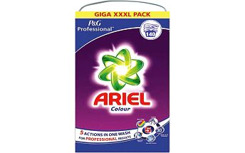 Ariel Professional prací prášek barevné prádlo 9,1kg 140 cyklů
