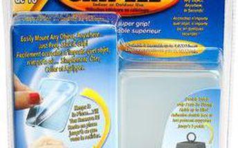 Samolepící silikonové nanopodložky Gripeez 10 ks