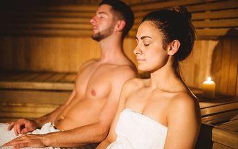 Privátního wellness pro 2 osoby v Plzni