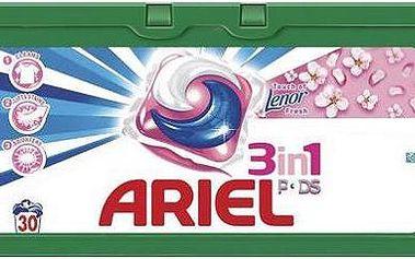 Ariel 3in1 Lenor 30 kapslí na bílé i barevné prádlo