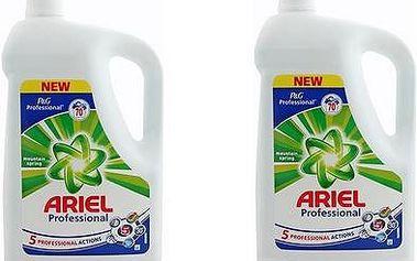 Ariel Professional prací gel na bílé prádlo 2x70 cyklů = 140 ckl