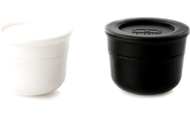 Sauce cups Duo Black/White