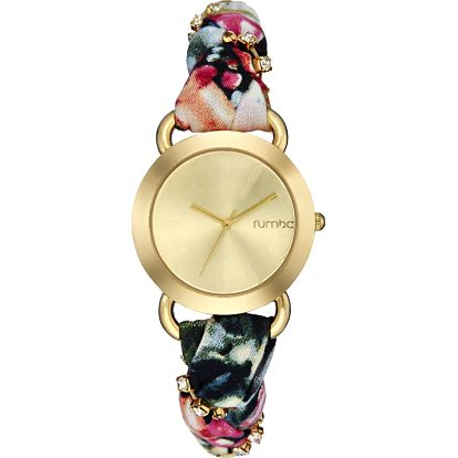 Dámské hodinky Nolita Black Crystal - doprava zdarma!