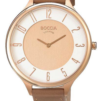 Boccia Titanium 3240-03 + pojištění hodinek, doprava ZDARMA, záruka 3 roky