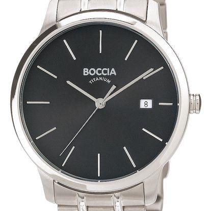 Boccia Titanium 3582-02 + pojištění hodinek, doprava ZDARMA, záruka 3 roky