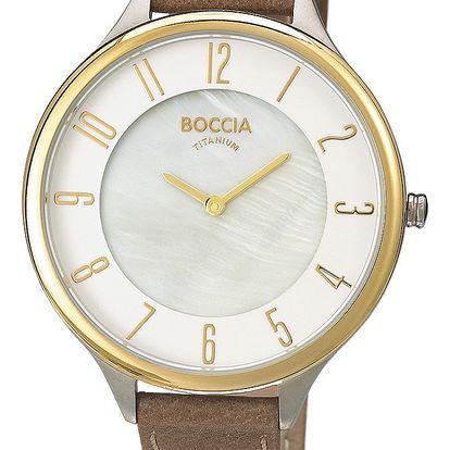 Boccia Titanium 3240-02 + pojištění hodinek, doprava ZDARMA, záruka 3 roky