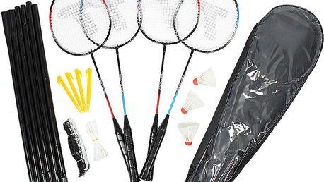 Handy Toy Badmintonový set pro 4 hráče se síťkou