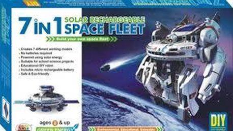 Solární stavebnice 7 v 1 - Space Fleet