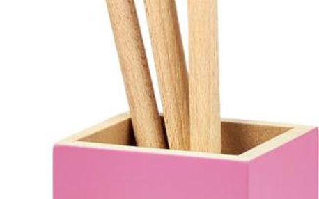 Stojan s kuchyňskými nástroji Fuchsia Touch