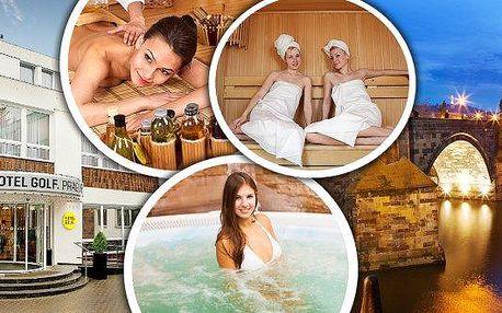 Wellness balíček pro dva - 2,5 hodiny regenerace a relaxace v luxusním prostředíStudia Agáta v Hotelu Golf ****. V rámci balíčku si užijete uvolňující masáž zad a šíje, hřejivý obklad na záda, ozónovou terapii, saunu v parním boxu a vířivou koupel. Dopře