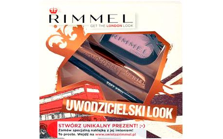 Rimmel London Wonder Full Mascara Kit dárková sada W - 11ml Wonder Full Mascara + 3,5g Magnif Eyes Mono Eye Shadow 006 Poser + 1,2g Soft Kohl Kajal Eye Liner Pencil 061 Jet Black - Odstín 001 Black