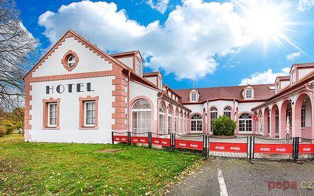 3–6denní pobyt v hotelu Atos v jižních Čechách pro 2 osoby s polopenzí