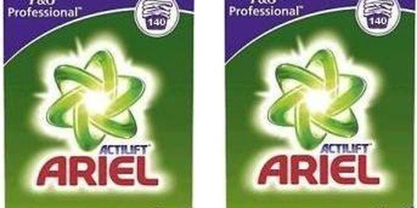 Ariel Professional na bílé prádlo 2x140 cyklů = 280ckl