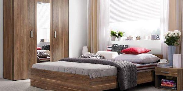 Ložnice s šatní skříní Resto