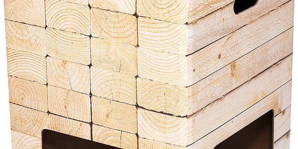 Stolička Dutch Design Chair Woodstack