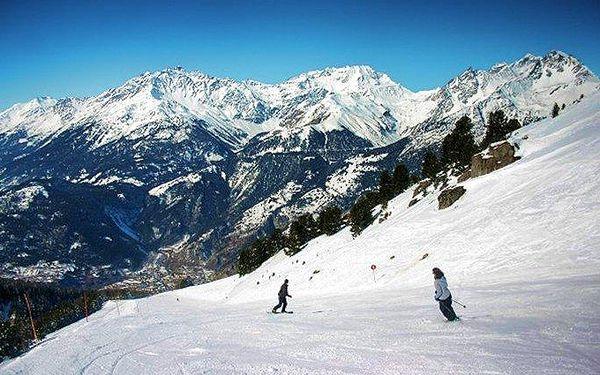 3denní lyžařský zájezd do francouzského střediska La Norma se skipasem v ceně pro 1 osobu