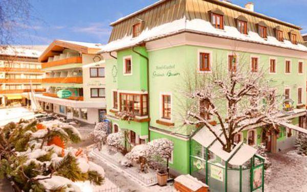 Rakouské Alpy pro dva s ubytováním v hotelu Grüner Baum v Zell am See