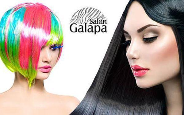 Až 71% sleva na kadeřnické balíčky v Salonu Galapa