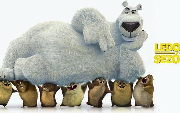 Vstupenka na animovaný film Ledová sezóna
