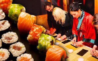 Zážitkový kurz sushi včetně konzumace